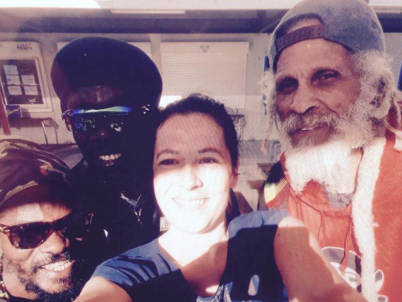 The Wailers Band - Musicien de Bob Marley avec Antonia